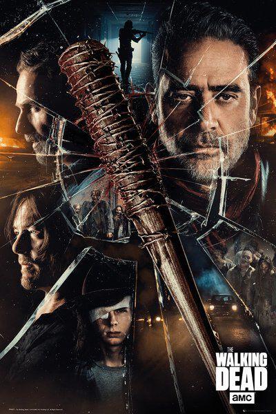 Image of   The Walking Dead Smash Plakat multifarvet
