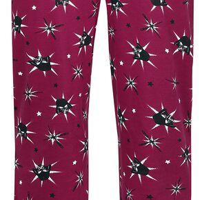 Star Wars Dark Vador - Stars Bas de pyjama rouge