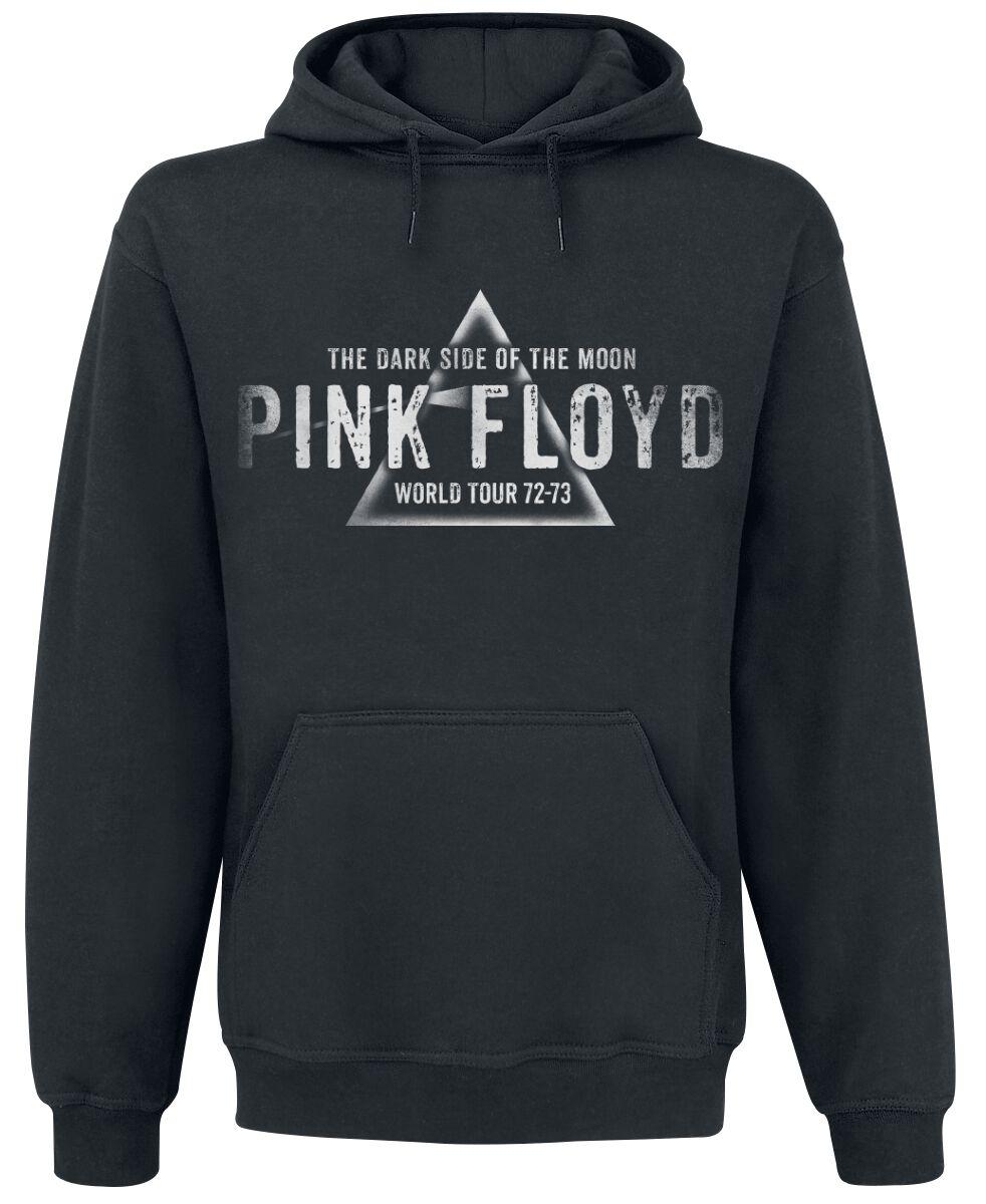 Image of   Pink Floyd Dark Side - World Tour Hættetrøje sort
