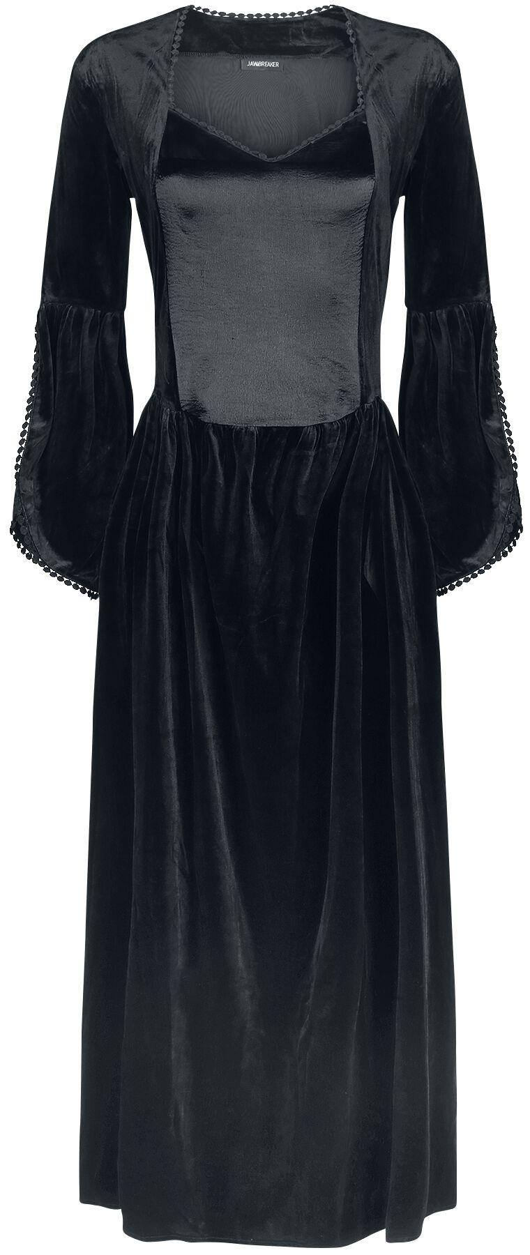 Image of   Jawbreaker Velvet & Satin Maiden kjole Kjole sort
