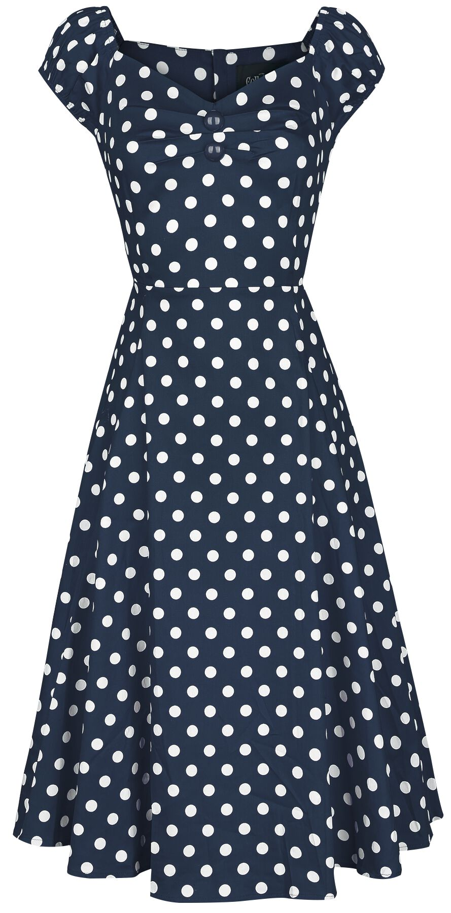 Collectif Clothing Dolores Doll Dress Polka Kle...