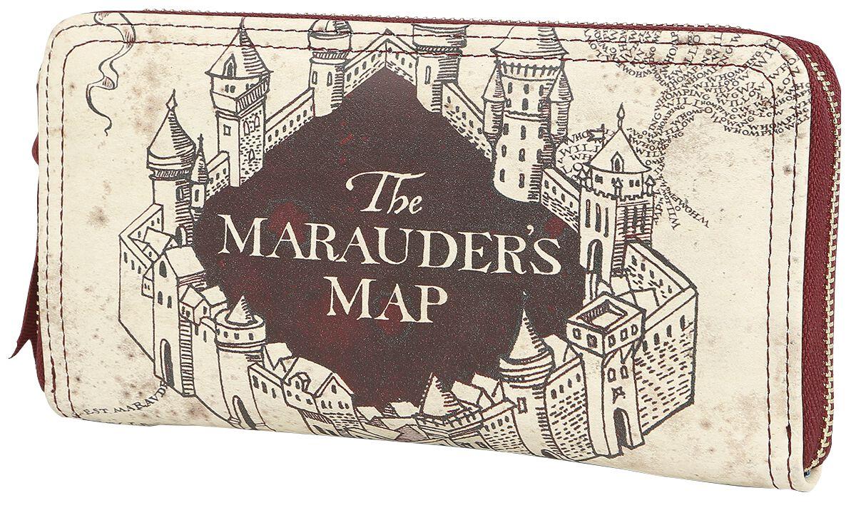 Harry Potter Marauder\'s Map Geldbörse multicolor | 380681 | Geldbörse...