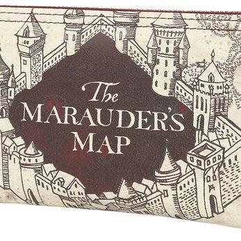 Porte-Monnaie Harry Potter Carte du Maraudeur - Noir