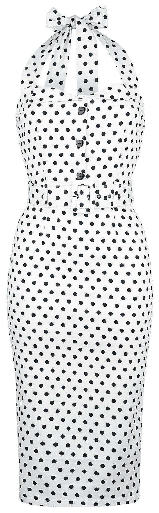Collectif Clothing Wanda Polka Dot Pencil Dress...