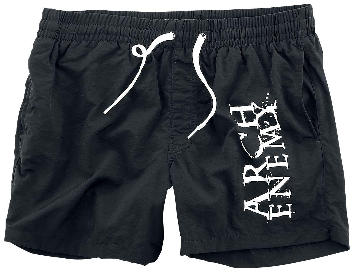 Image of   Arch Enemy Logo Badeshorts sort