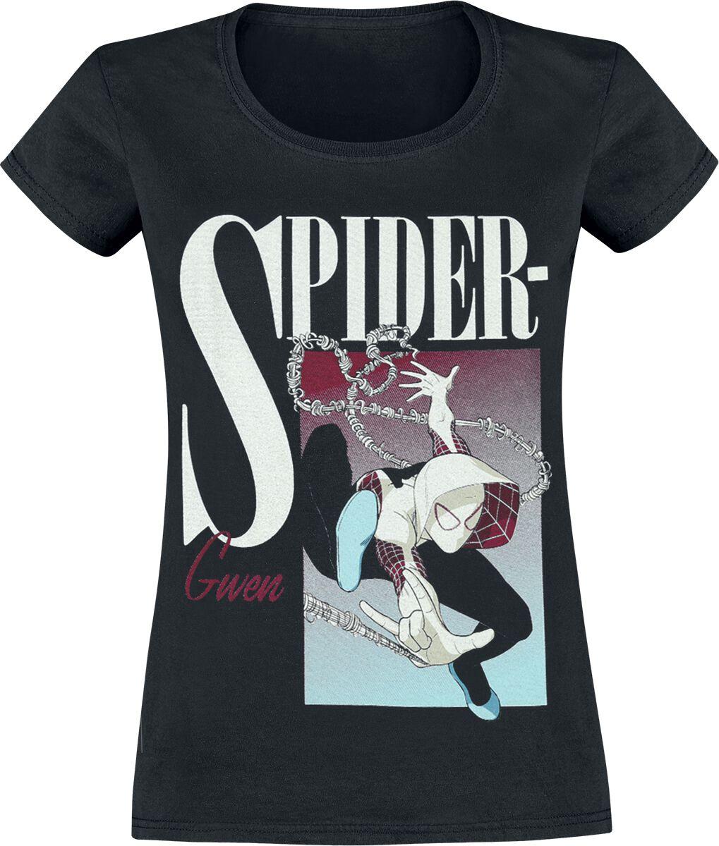 Image of   Spiderman Spider-Gwen Boxed Girlie trøje sort