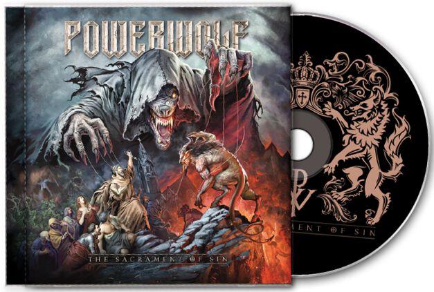 Image of   Powerwolf The sacrament of sin CD standard