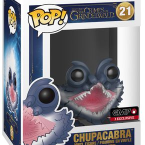 Les Animaux Fantastiques Les Crimes Grindelwald - Figurine En Vinyle Chupacabra 21 Figurine de collection Standard