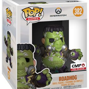 Overwatch Figurine En Vinyle Roadhog (Oversize) 382 Figurine de collection Standard