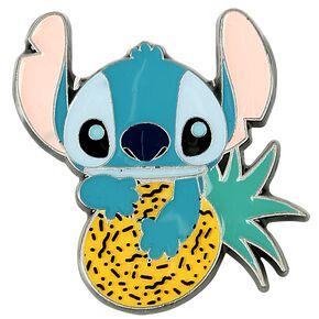 Lilo & Stitch Stitch Avec Un Ananas Pin's multicolore