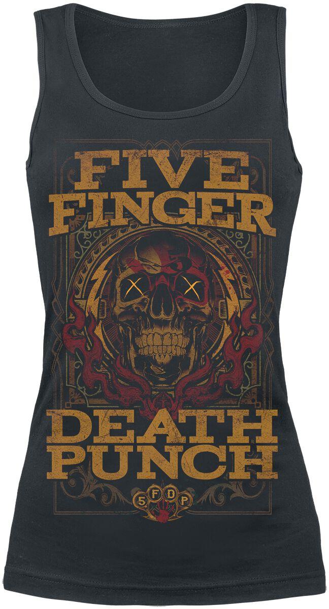 Image of   Five Finger Death Punch Wanted Girlie top sort