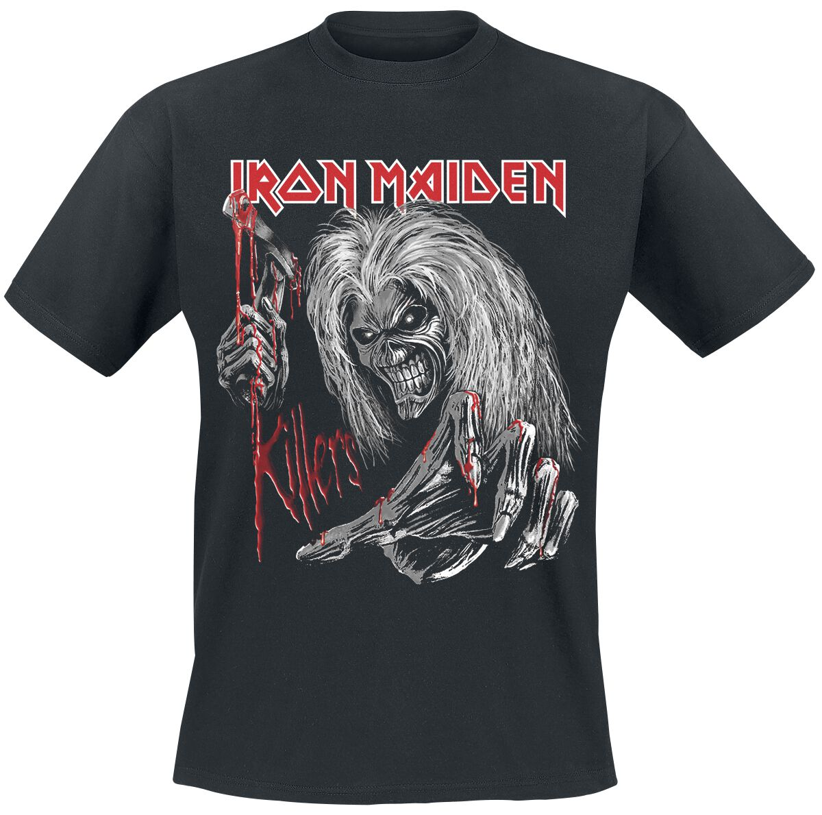 Image of   Iron Maiden Ed Kills Again T-Shirt sort