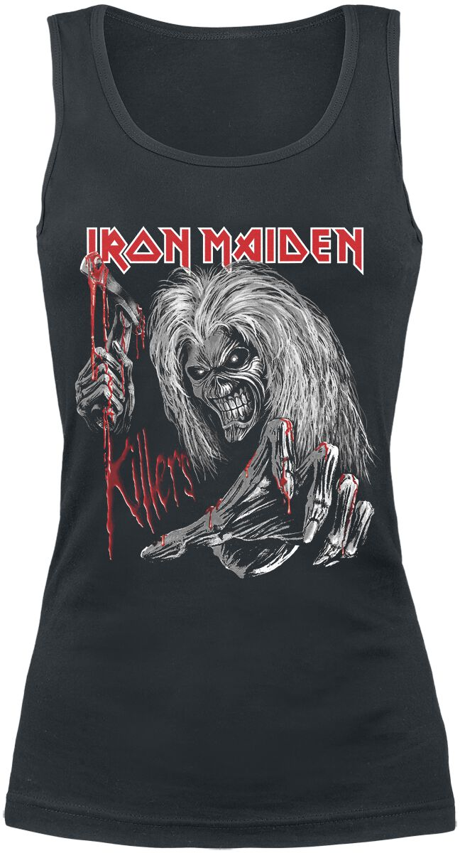 Image of   Iron Maiden Ed Kills Again Girlie top sort