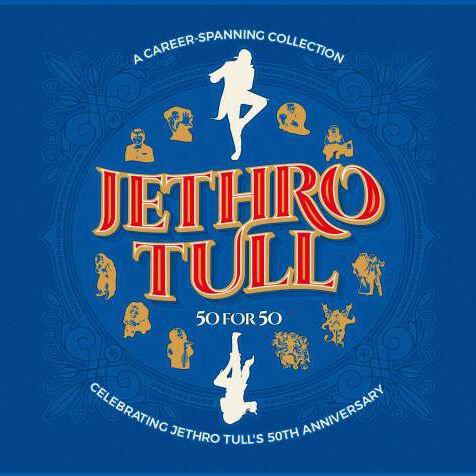 Jethro Tull 50 for 50 3-CD Standard