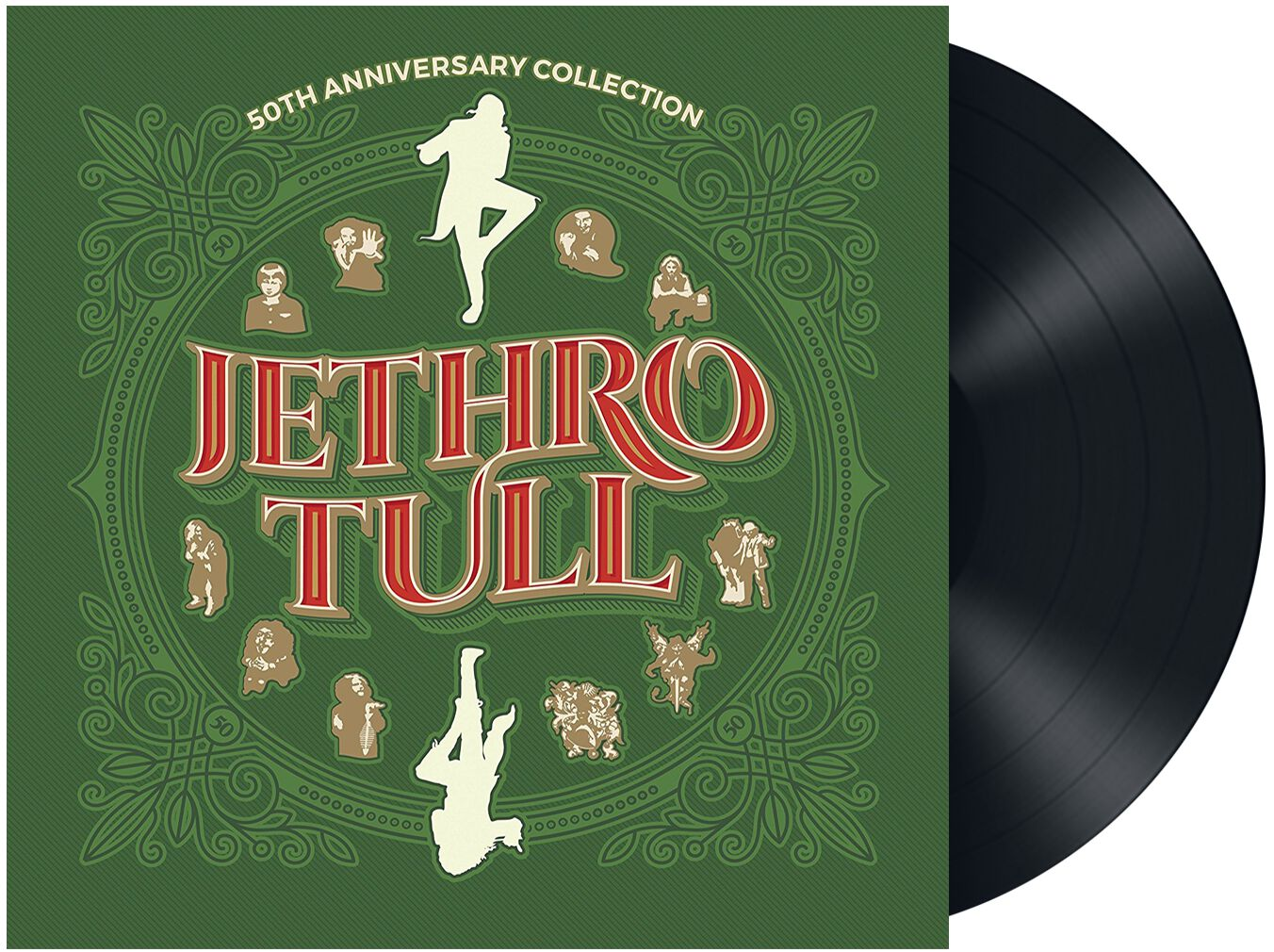 Jethro Tull 50th anniversary collection LP Stan...