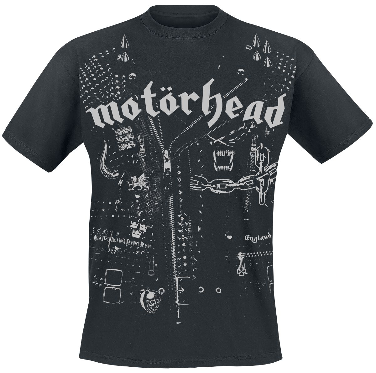 Image of   Motörhead Jacket T-Shirt sort