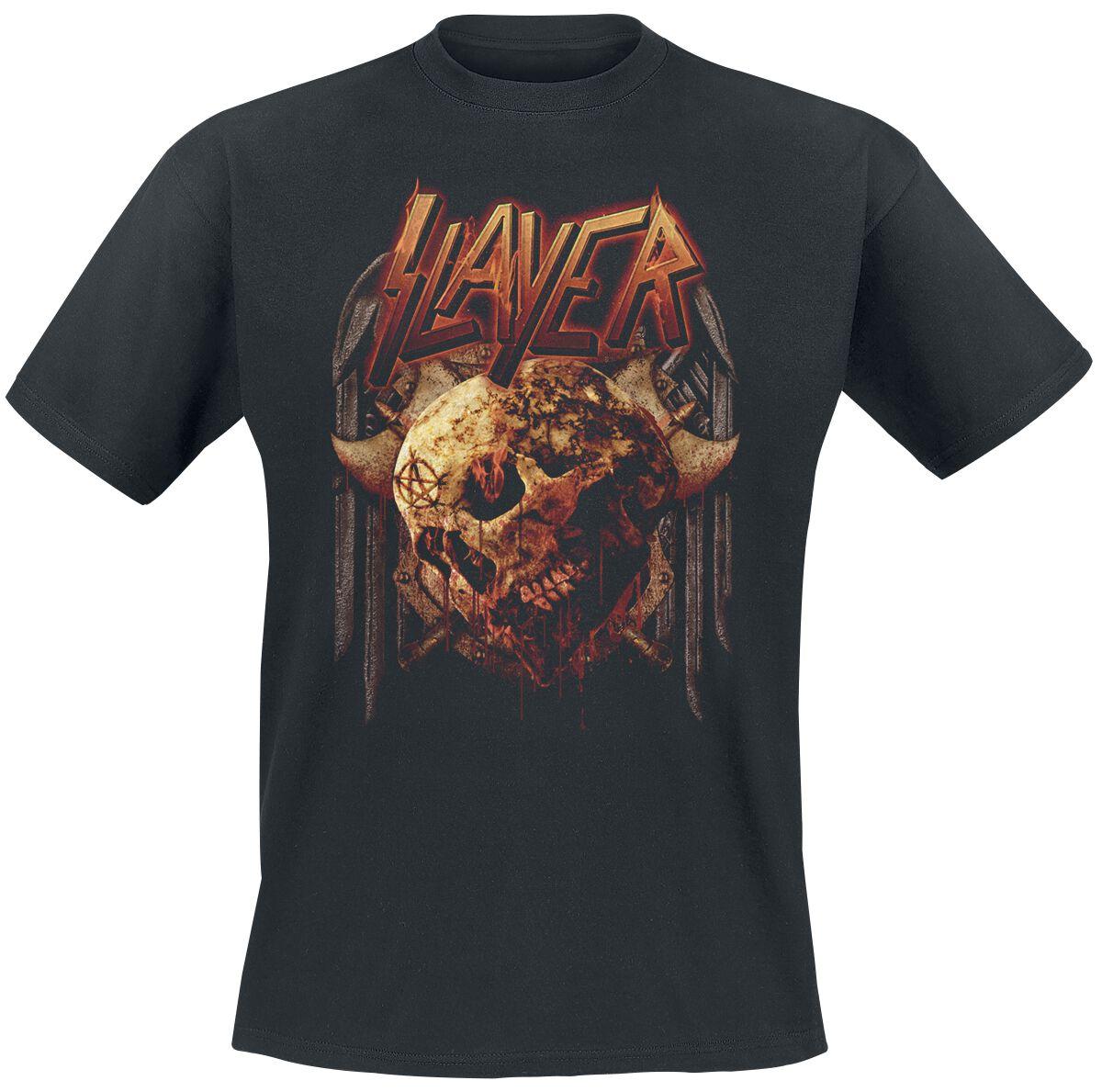Image of   Slayer Battle T-Shirt sort