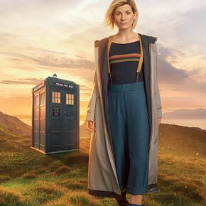 Doctor Who 13th Doctor Poster multicolore