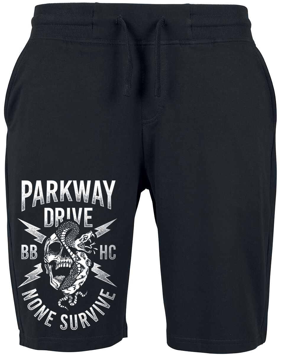 Image of   Parkway Drive Logo Shorts sort