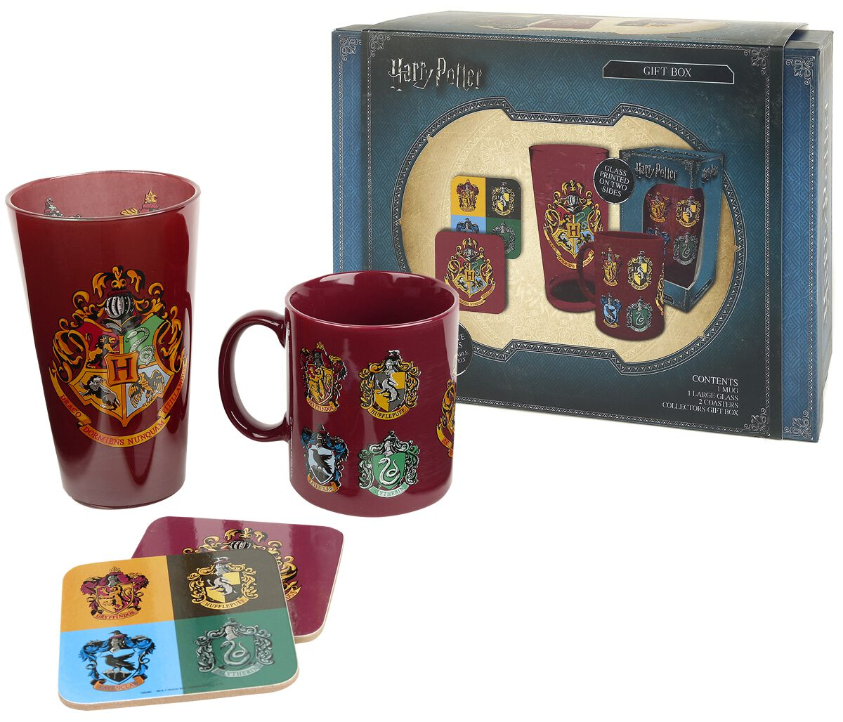 Image of   Harry Potter Crests - Gaveboks Fanpakke multifarvet