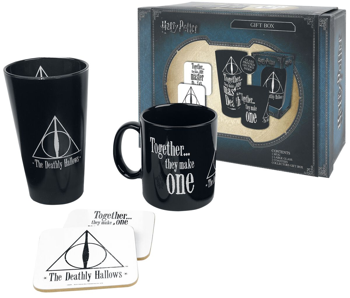 Image of   Harry Potter Deathly Hallows - gaveæske Fanpakke multifarvet