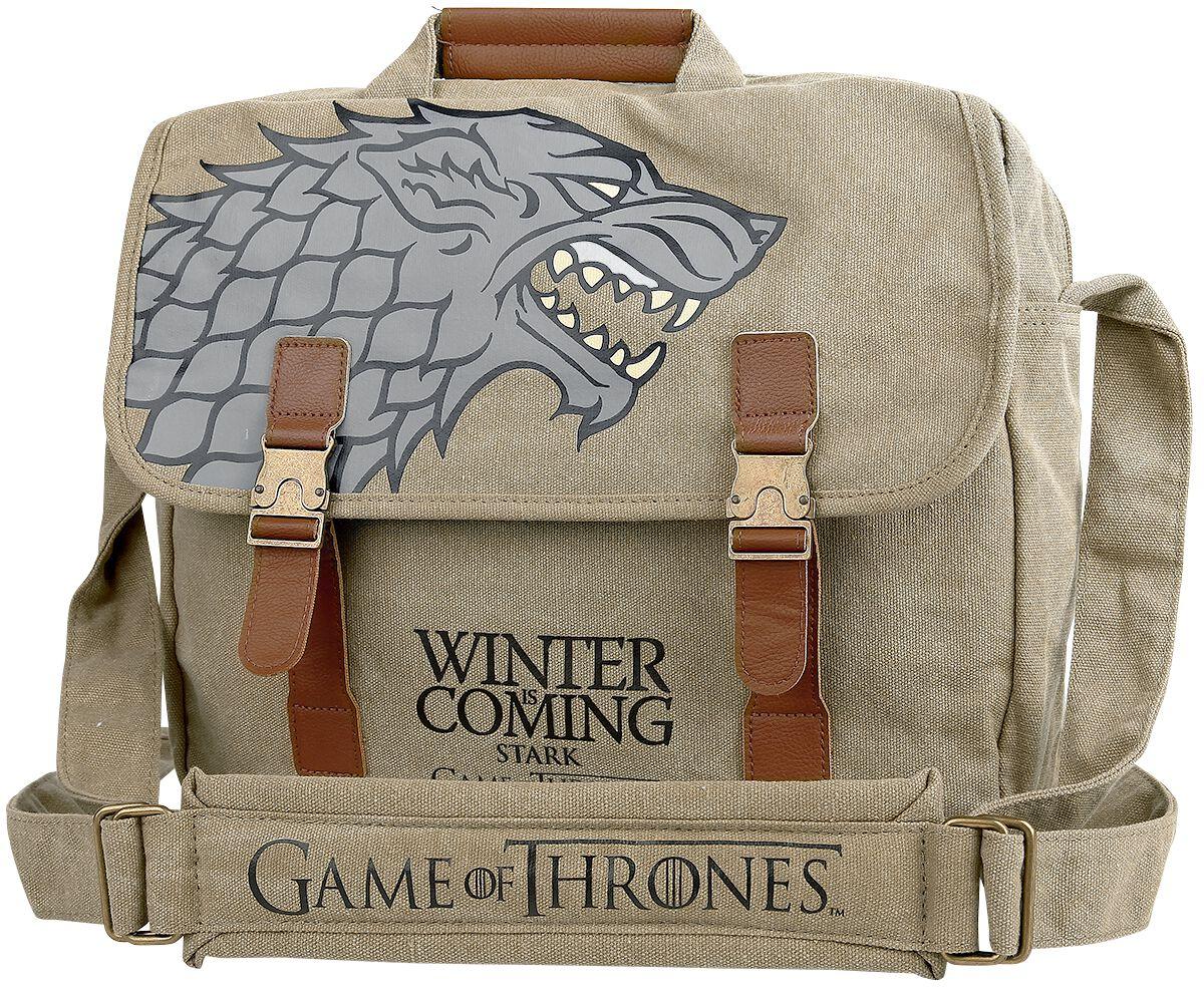 Image of   Game Of Thrones House Stark Budtaske beige