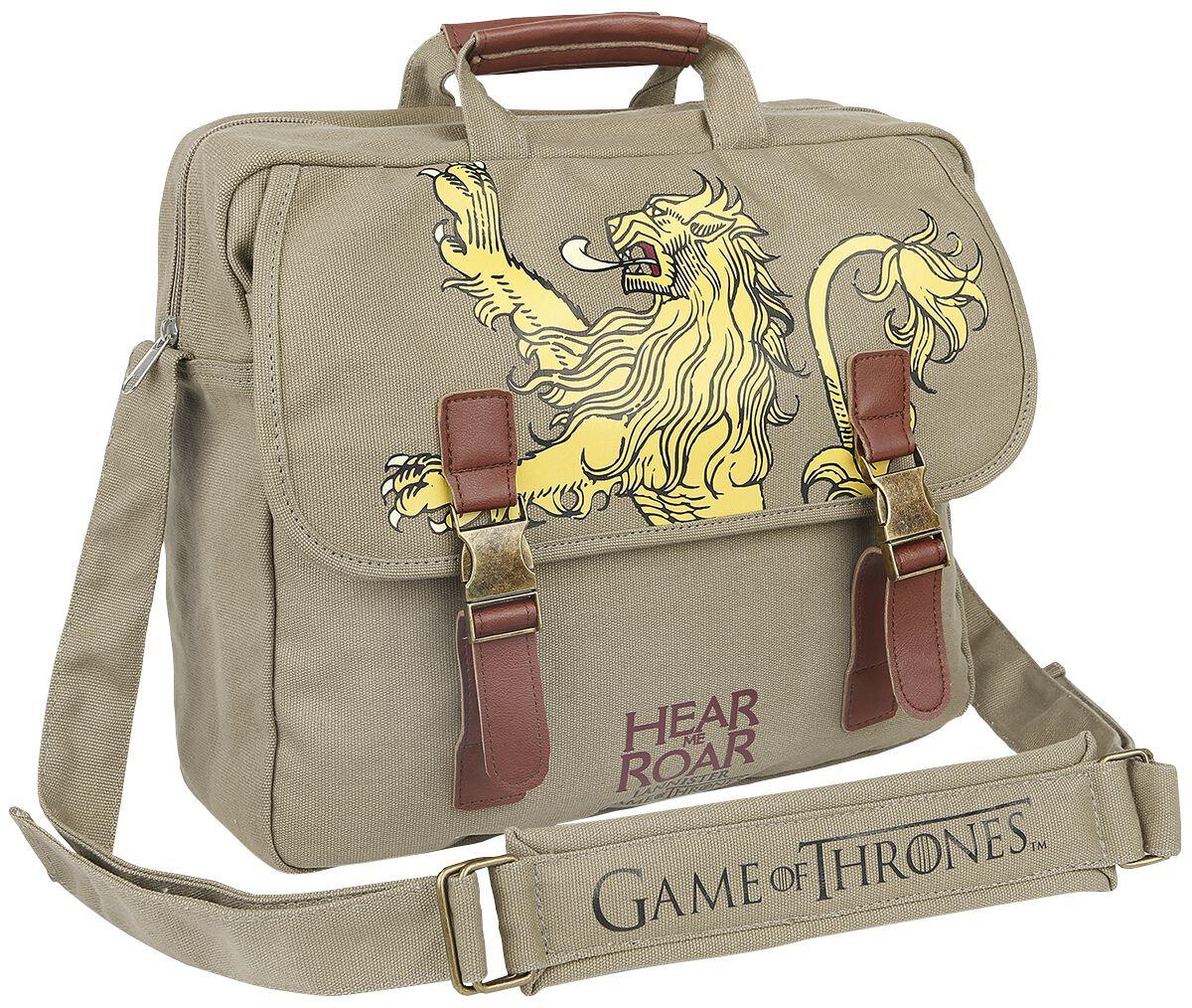 Image of   Game Of Thrones House Lannister Budtaske beige
