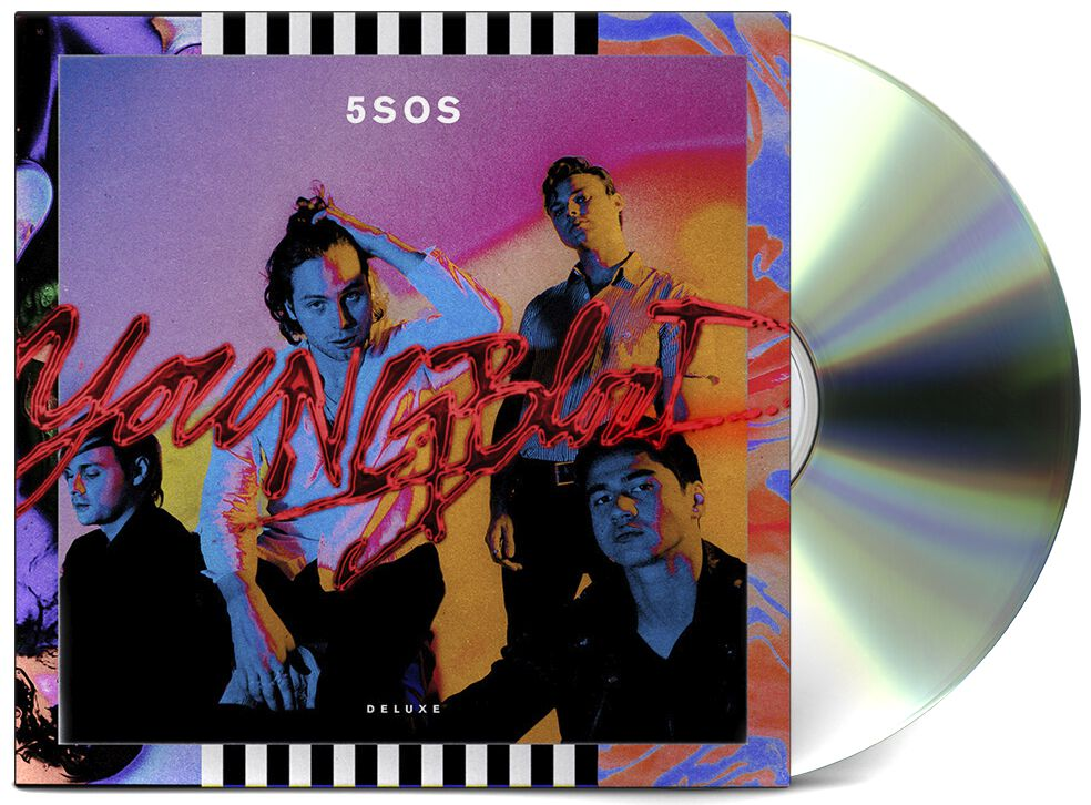 Image of   5 Seconds Of Summer Youngblood CD Standard