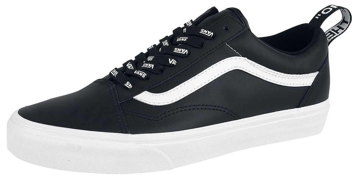 Image of   Vans Old Skool OTW Webbing Sneakers sort-hvid