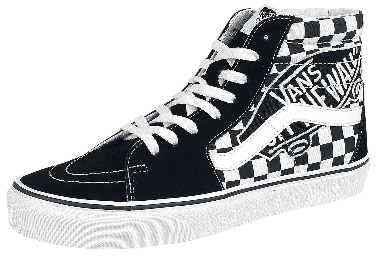 Image of   Vans SK8-Hi Vans Patch Sneakers sort-hvid