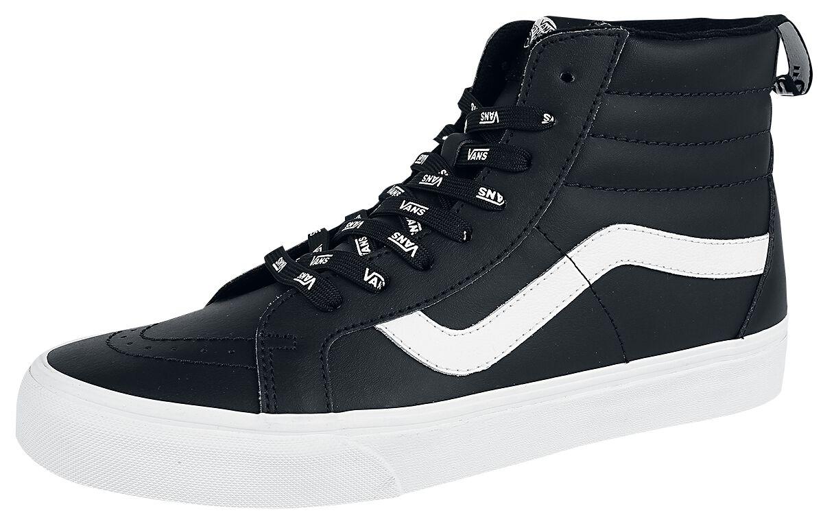 Image of   Vans SK8-Hi Reissue OTW Webbing Sneakers sort-hvid