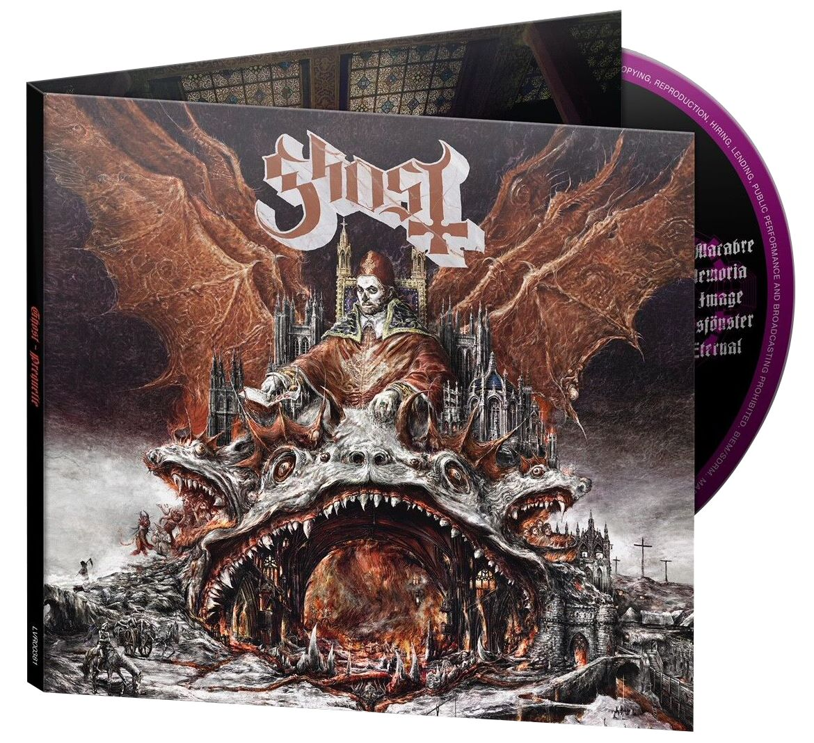 Ghost Prequelle CD standard