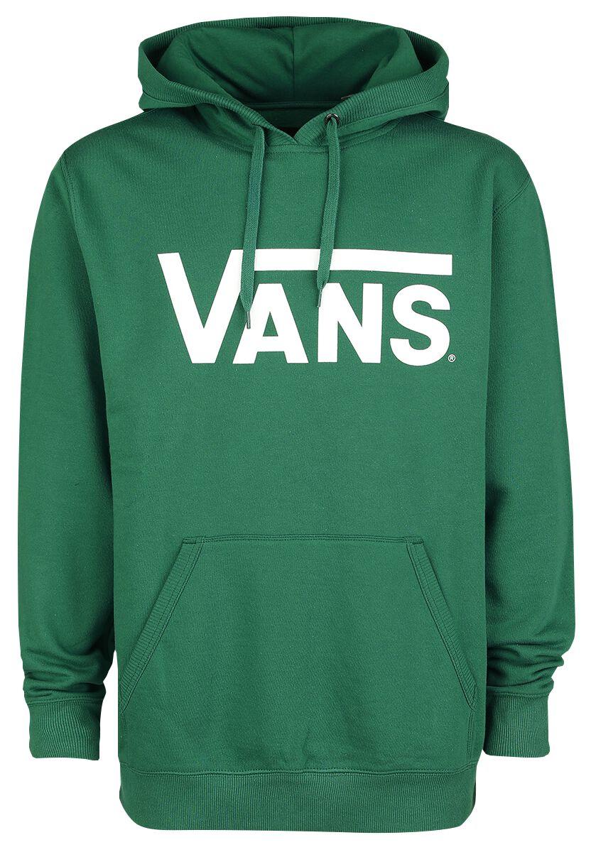 Image of   Vans Classic Pullover Hoodie Hættetrøje grøn-hvid
