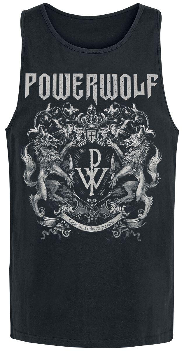 Image of   Powerwolf Crest Tanktop sort