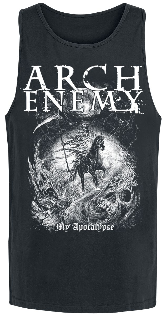 Image of   Arch Enemy My Apocalypse Tanktop sort