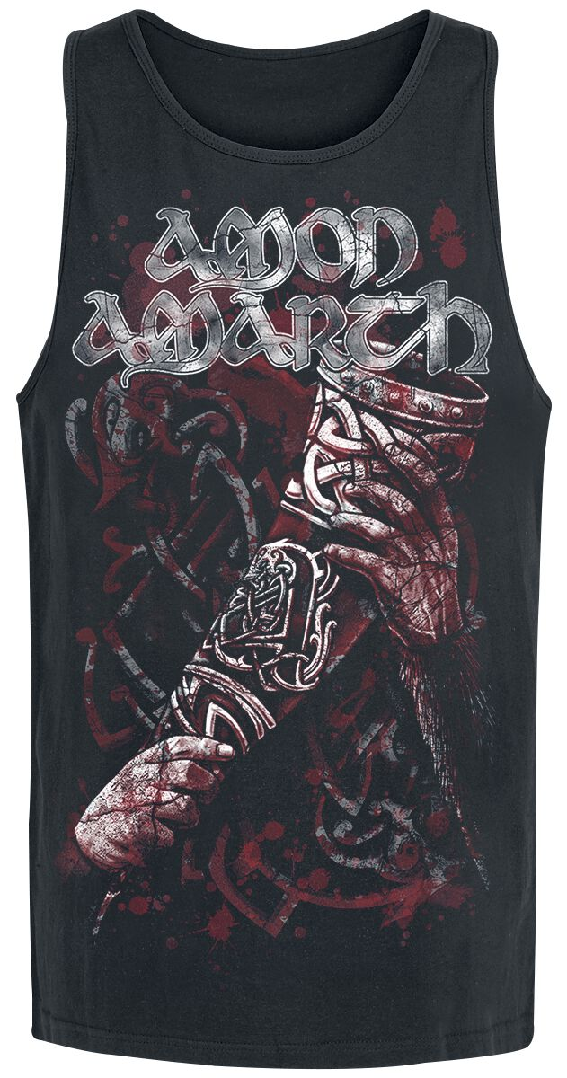 Image of   Amon Amarth Raise Your Horns Tanktop sort