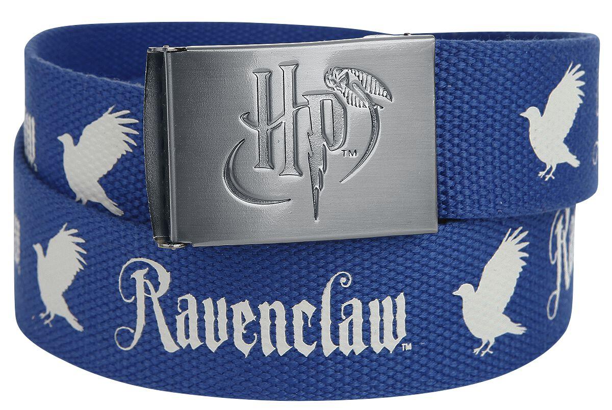 Guertel für Frauen - Harry Potter Ravenclaw Gürtel blau grau  - Onlineshop EMP