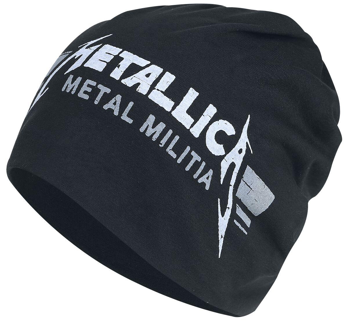 Image of   Metallica Metal Militia Bars - Light Beanie Beanie sort