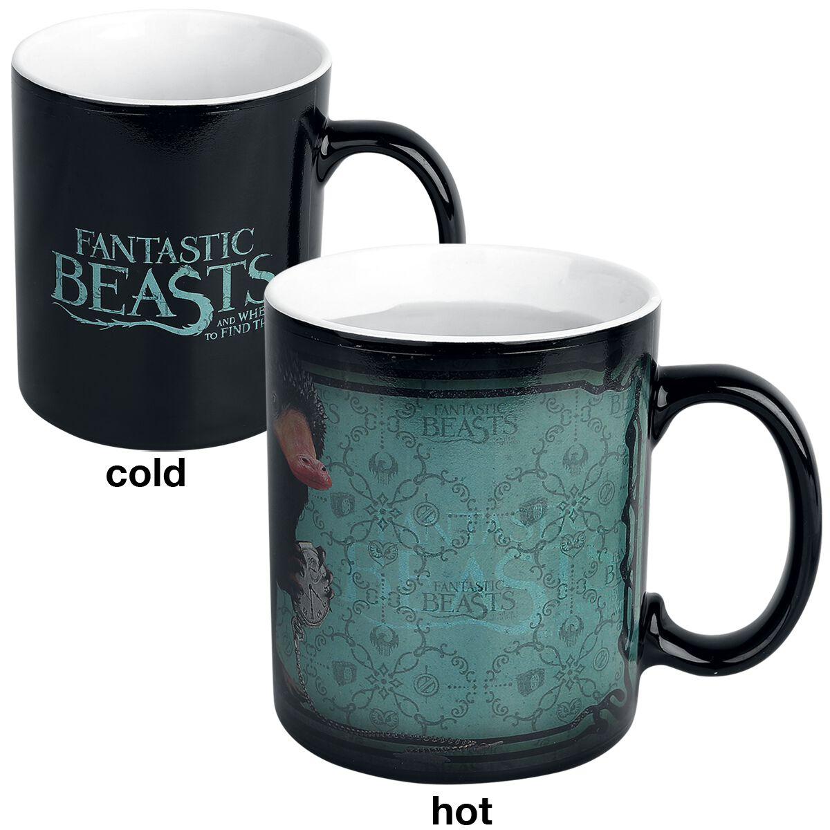 Image of   Fantastic Beasts Niffler - motivskiftende krus Krus multifarvet