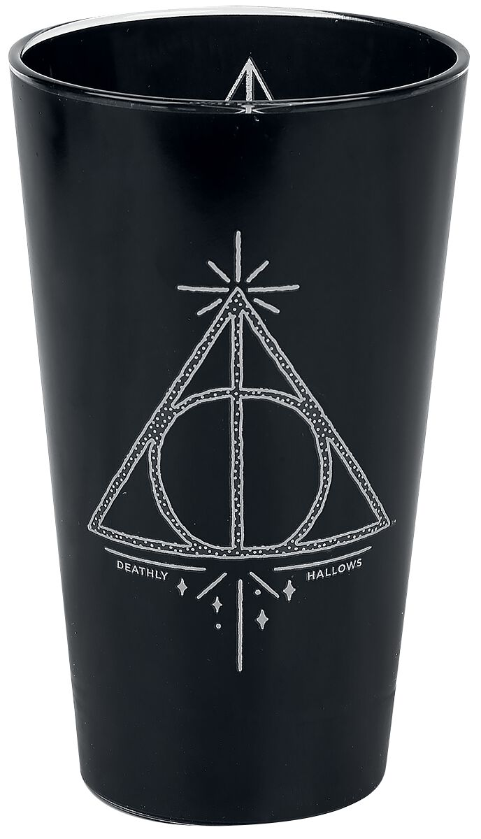 Image of   Harry Potter Deathly Hallows Ølglas sort
