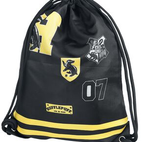 Harry Potter Poufsouffle Sac de Gym noir/jaune