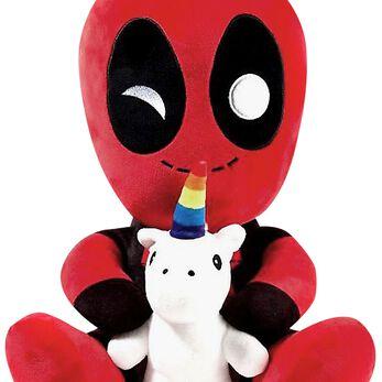 Deadpool Figurine Plush Hugme Deadpool Figurine en Peluche Standard