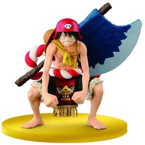 One Piece Film Gold SCultures Figurine Big Zoukeio Special Luffy Figurine de collection Standard