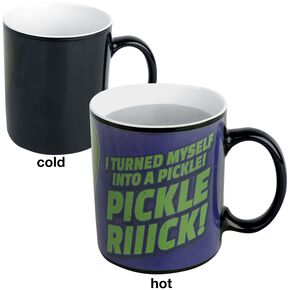 Rick & Morty Pickle Rick - Mug Thermoréactif Mug multicolore