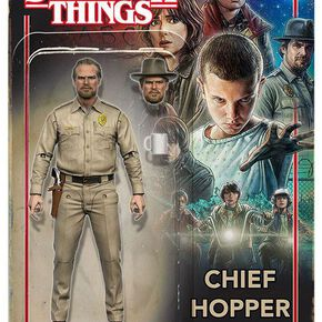 Stranger Things Chief Hopper Figurine articulée multicolore