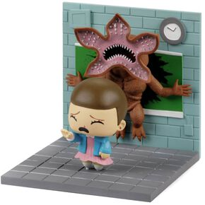 Stranger Things Onze vs Demogorgon - Diorama Figurine de collection Standard