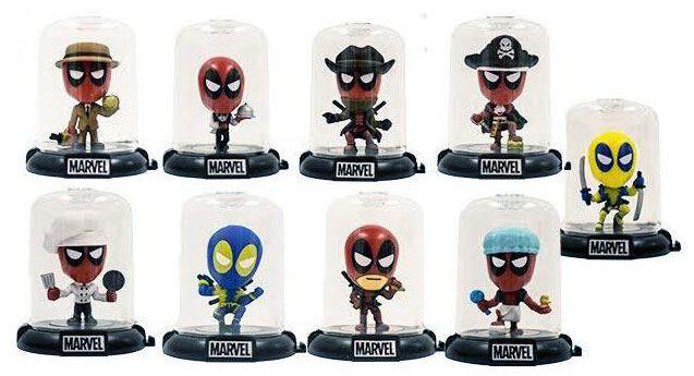 Image of   Deadpool Domez Mystery Minis - Serie 2 Samlefigur multifarvet