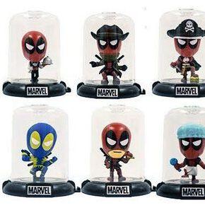 Deadpool Mystery Minis Domez - Séries 2 Figurine de collection multicolore