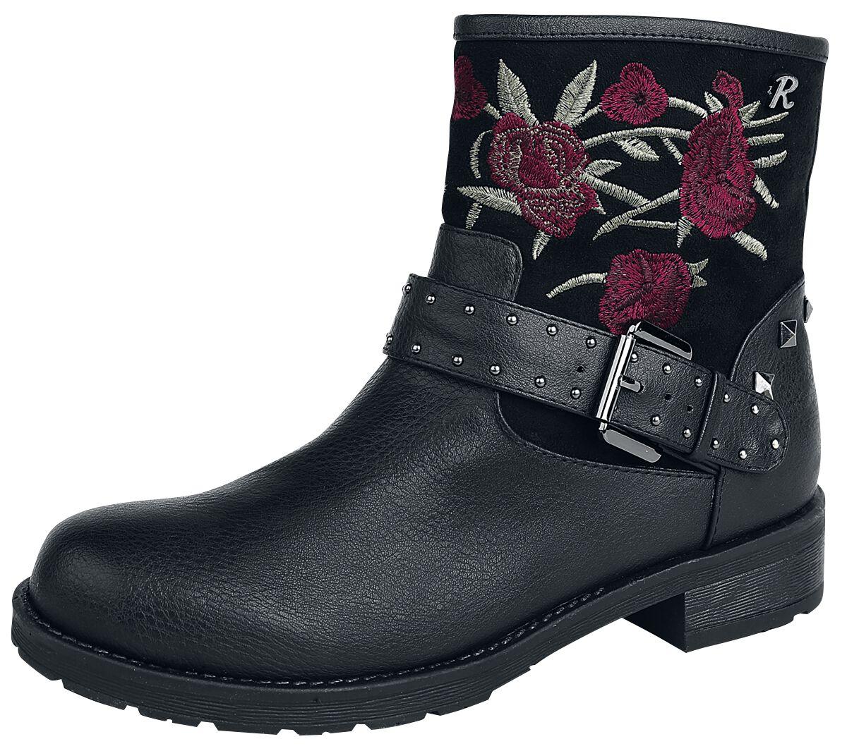 Stiefel für Frauen - Refresh Black Rose Boot Boots schwarz  - Onlineshop EMP