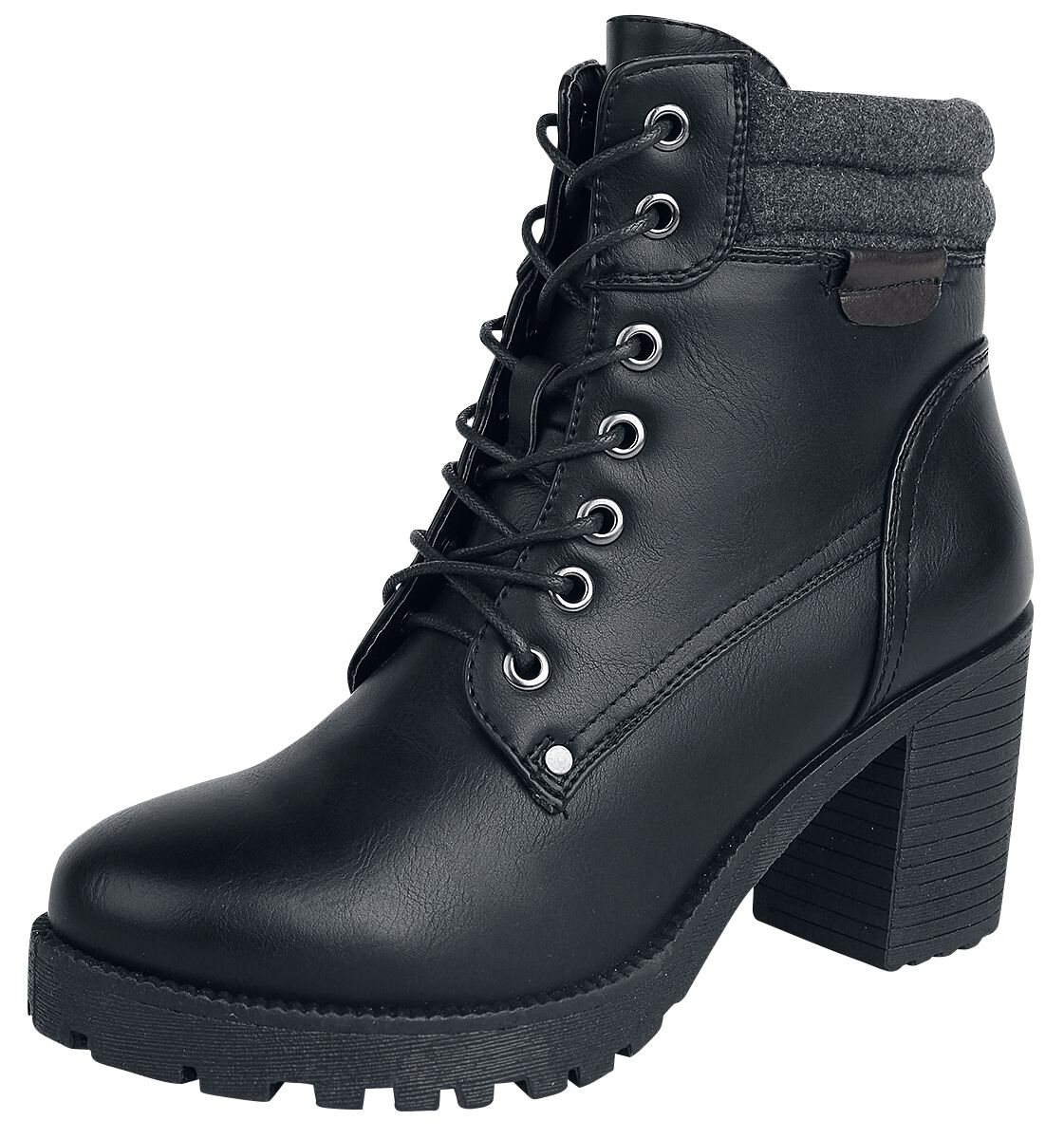 Stiefel für Frauen - Refresh Burdeos Boot Boots schwarz  - Onlineshop EMP